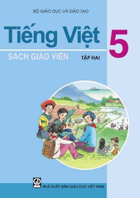 sách giáo khoa tiếng việt 5
