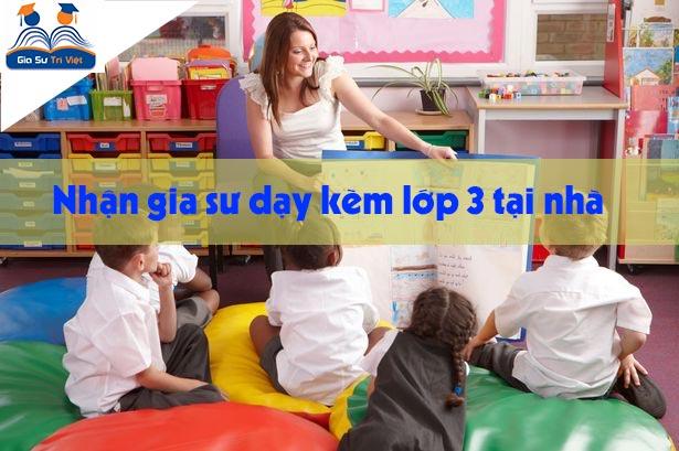 tìm gia sư dạy kèm lớp 3 tại nhà